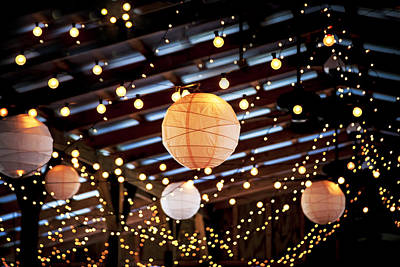 Photograph - Wedding Lights 1 by Rich Franco