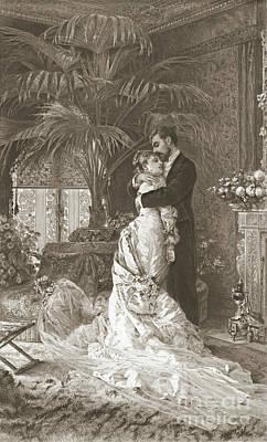 Wedding Night 1881 Art Print