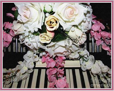 Photograph - Wedding Polka Time Bouquet On Accordion by Rose Santuci-Sofranko