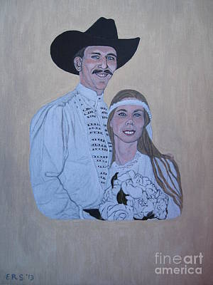 Painting - Wedding Portrait by Elizabeth Stedman