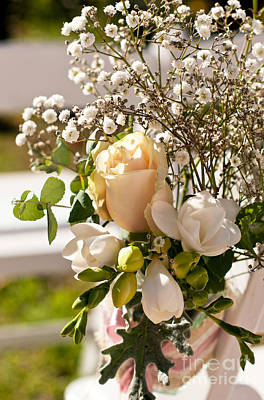 Photograph - Wedding Posy by Rick Piper Photography