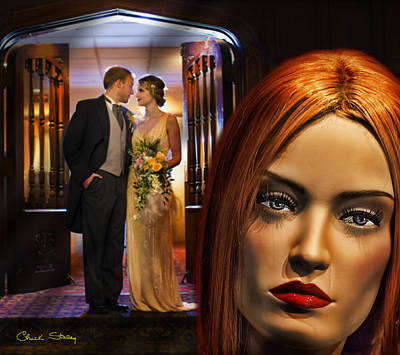 Photograph - Wedding Reception by Chuck Staley