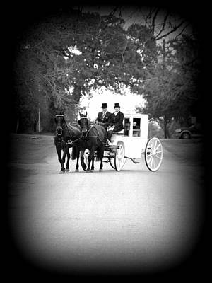 Photograph - Wedding Ride by James Granberry