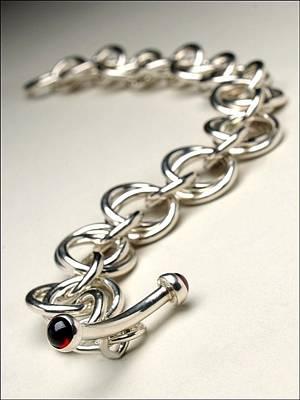 Sterling Silver Bracelet Jewelry - Wedding Rings Bracelet by Beverly Fox