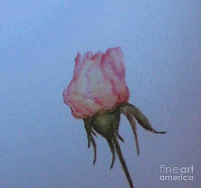 Painting - Wedding Rose by Laura Hamill