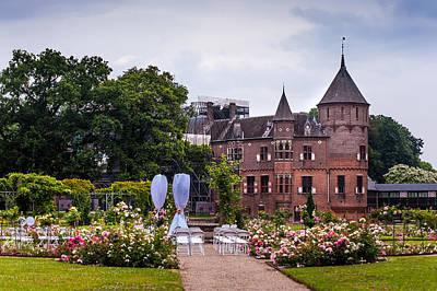 Wedding Setting In De Haar Castle. Utrecht Art Print by Jenny Rainbow