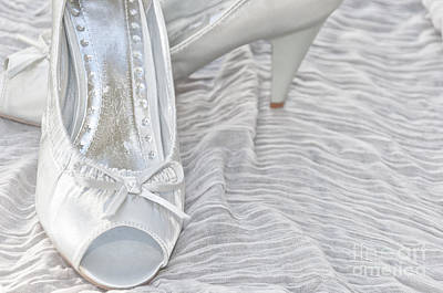 Wedding Shoes Print by Antony McAulay