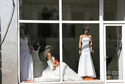 Tbilisi Photograph - Wedding Shop In Tbilisi by Lali Kacharava