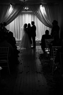 Photograph - Wedding Vows by Charles Benavidez