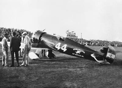 Photograph - Wedell-williams Racer Circa 1930 by Henri Bersoux