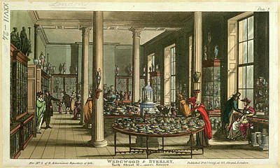 Wedgwood And Byerley Art Print by British Library