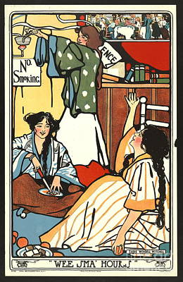 Wee Small Hours 1909 Art Print by Padre Art