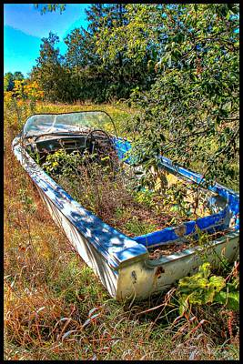 Photograph - Weed Boat by Michaela Preston