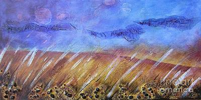 Painting - Weeds Among The Wheat by Jocelyn Friis
