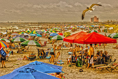 Landscape Photograph - Weekend Down The Shore by Tom Gari Gallery-Three-Photography