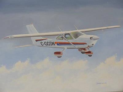 Painting - Weekend Flier by James Lawler