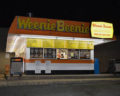 Weenie Beenie  Art Print by Christopher Kerby