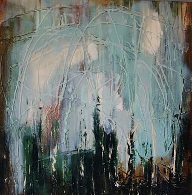 Weep Art Print by Lauren Petit