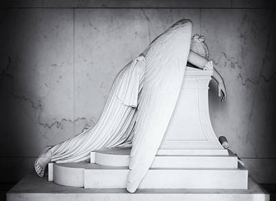 Weeping Angel 1 Art Print by John Gusky