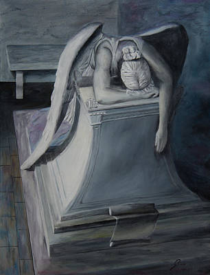 Weeping Angel Original by Gino Didio