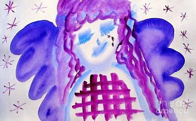 Painting - ...weeping Angel... by Jutta Gabriel