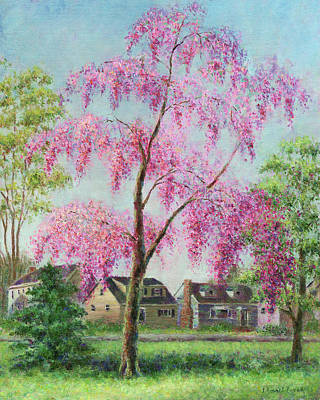 Painting - Weeping Cherry by Susan Savad