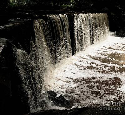 Photograph - Weeping Falls by Scott Allison