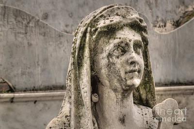 Photograph - Weeping Statue by Deborah Smolinske