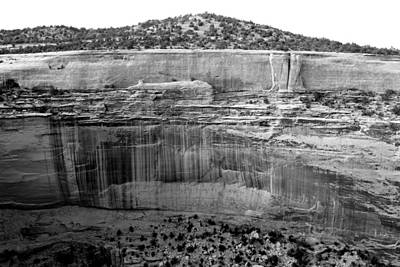 Photograph - Weeping Wall Colorado National Monument by Mary Bedy