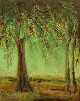 Weeping Willow Art Print by Mary Wolf