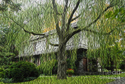 Science Tees Rights Managed Images - Weeping Willow Royalty-Free Image by Paul W Faust -  Impressions of Light