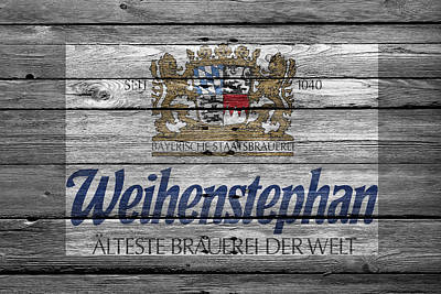Hop Photograph - Weihenstephan by Joe Hamilton