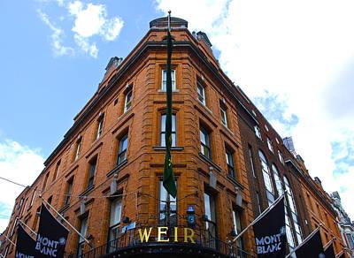 Photograph - Weir Dublin by Charlie Brock