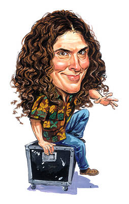 Funny Painting - Weird Al Yankovic by Art
