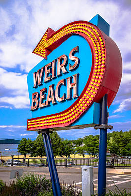Photograph - Weirs Beach by Robert Clifford