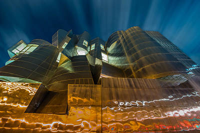 University Of Minnesota Photograph - Weisman Art Museum by Mark Goodman