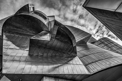 Deconstructed Photograph - Weisman Art Museum by Tom Gort