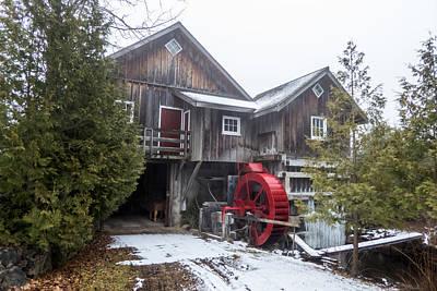 1920s Flapper Girl - Welbeck Sawmill by Richard Kitchen