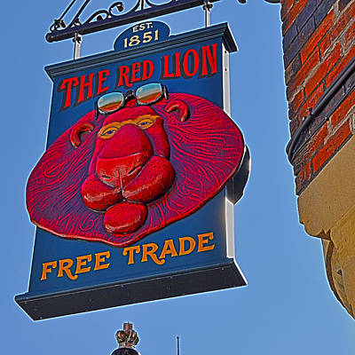 Photograph - Welcome At The Red Lion by Nop Briex