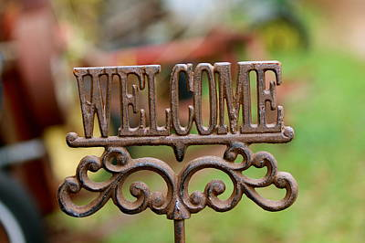 Photograph - Welcome by David Pickett