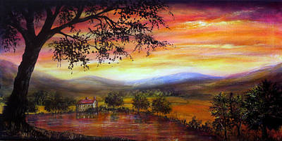 Bright Painting - Welcome Home by Ann Marie Bone