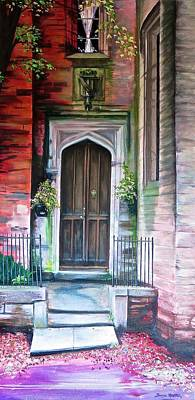 Painting - Welcome Home by Bonnie Heather
