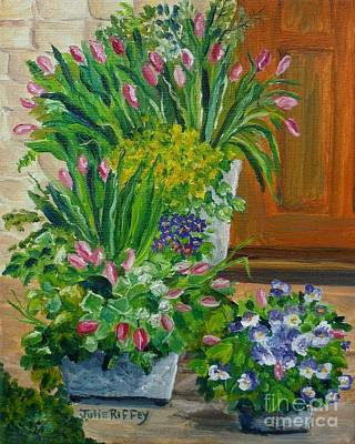 Painting - Welcome Home by Julie Brugh Riffey