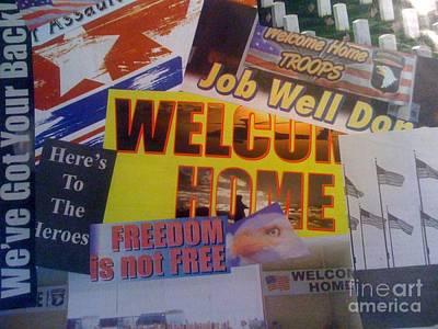 Welcome Home Art Print by Paula Talbert