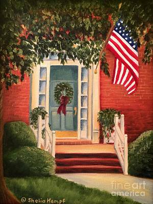 Painting - Welcome Home by Shelia Kempf
