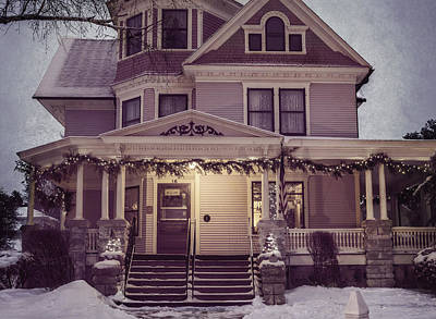 Welcome Inn From The Cold Art Print by Joan Carroll