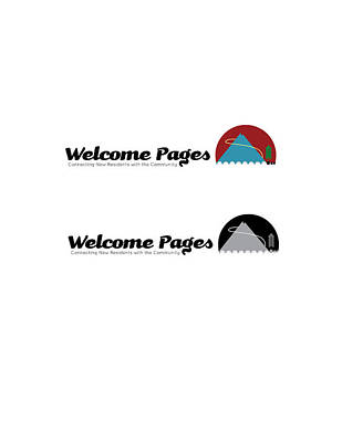 Digital Art - Welcome Pages Logo 2 by Teri Schuster