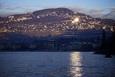 Vevey Photograph - Welcome Sun by Colleen Williams
