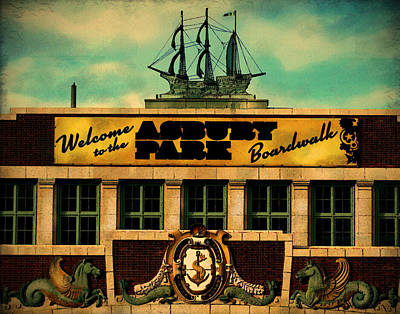 Photograph - Welcome To Asbury by Colleen Kammerer