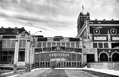 Photograph - Welcome To Asbury Park Mono by John Rizzuto